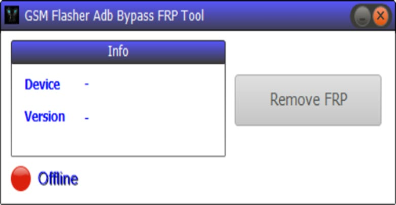 Download GSM Flasher ADB FRP Tool
