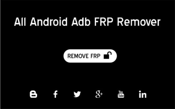 All Android ADB FRP Remover Tool