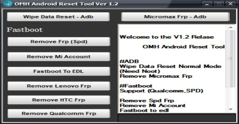 Download OMH Android Unlock Tool