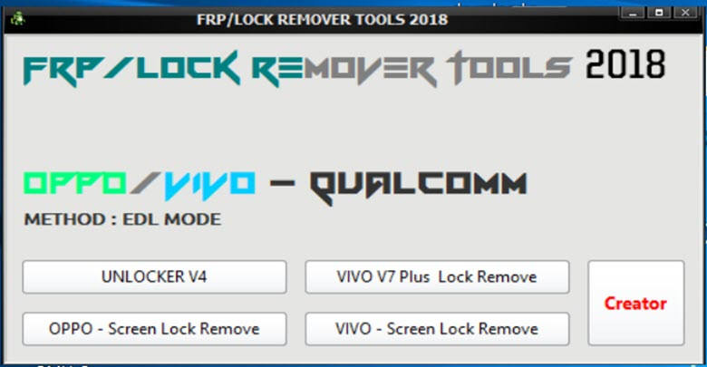 Download FRP Lock Remover Tool
